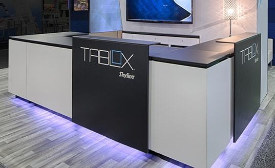 trade show display tables Tablox