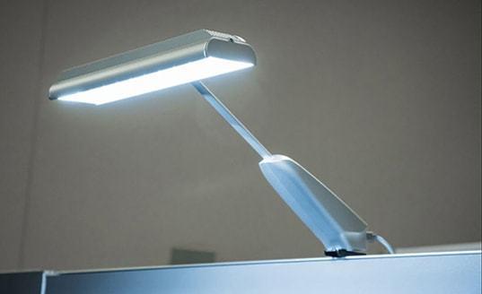 TriaSol® trade show exhibit lighting