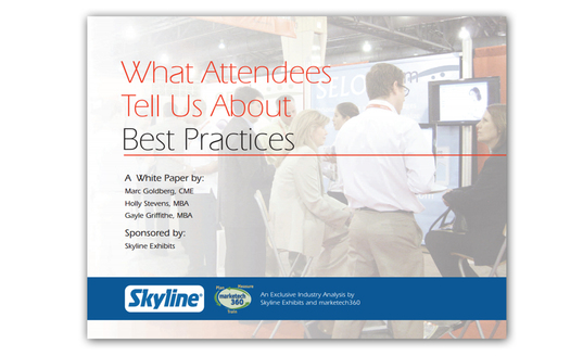 What Attendees Tell Us About Best Exhibiting Practices