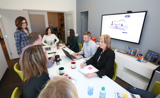 Skyline Dynovia team meeting