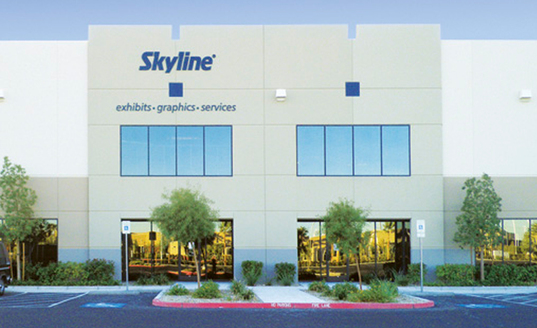 The Skyline Las Vegas Service Center is Strategically Located Less than Ten Minutes from the Strip and the Las Vegas Convention Center