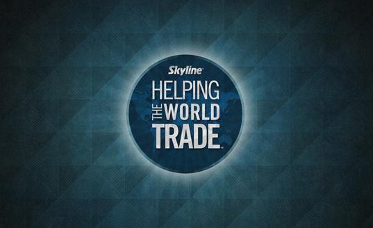 Skyline Helping The World Trade