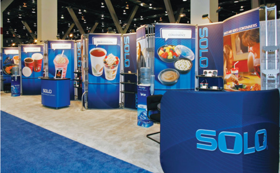 Exhibition Stand Hire York : Solo cup