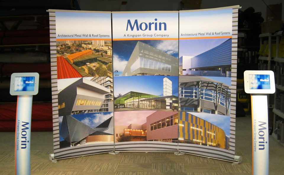Expo Stand Banner : Banner stands stand skyline exhibits