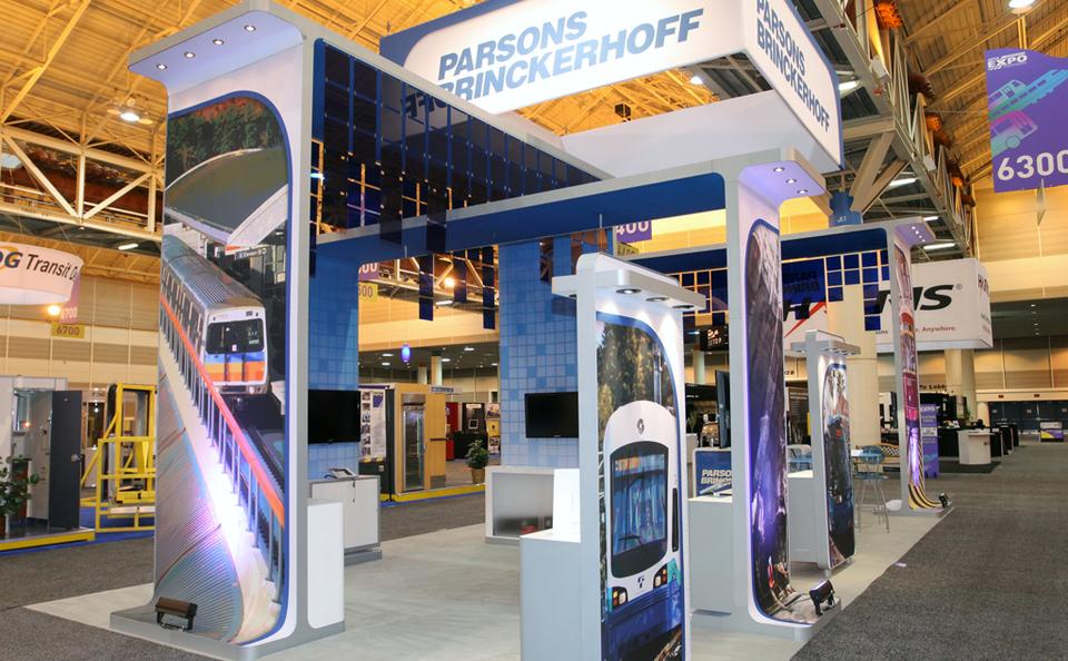 Parsons train trade show