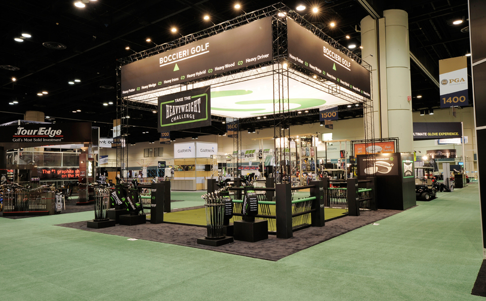 Boccieri Golf New York trade show