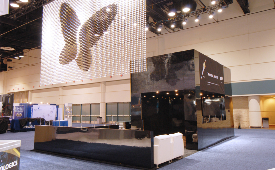 spineart new york trade show skyline butterfly