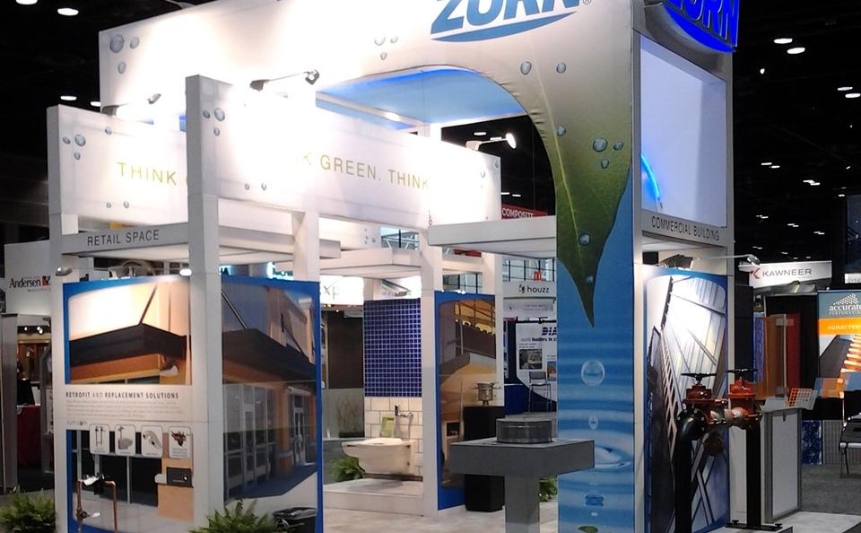 Zurn's Tradeshow Booth