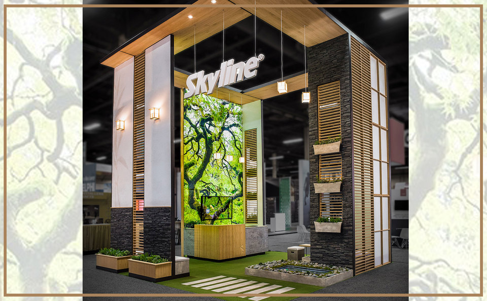 Skyline Exhibits Best of Show Large Booth at EXHIBITORLIVE 2017 in Las Vegas