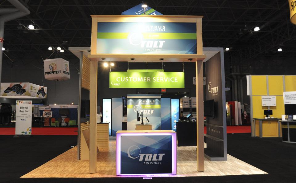 Tolt island design custom exhibit