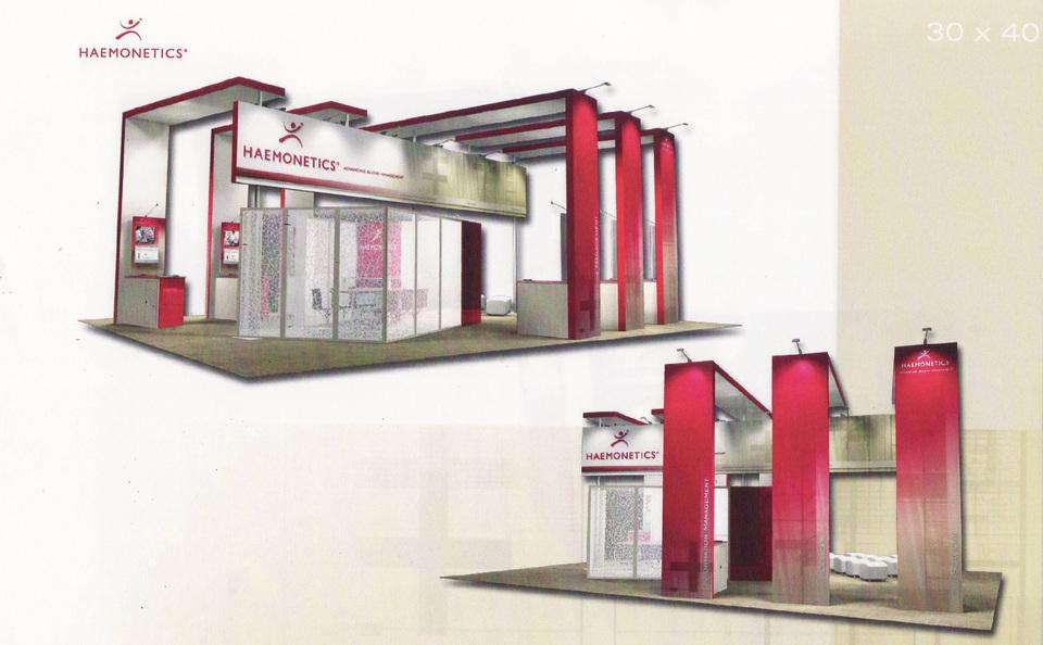 Skyline Northeast trade show booth rental