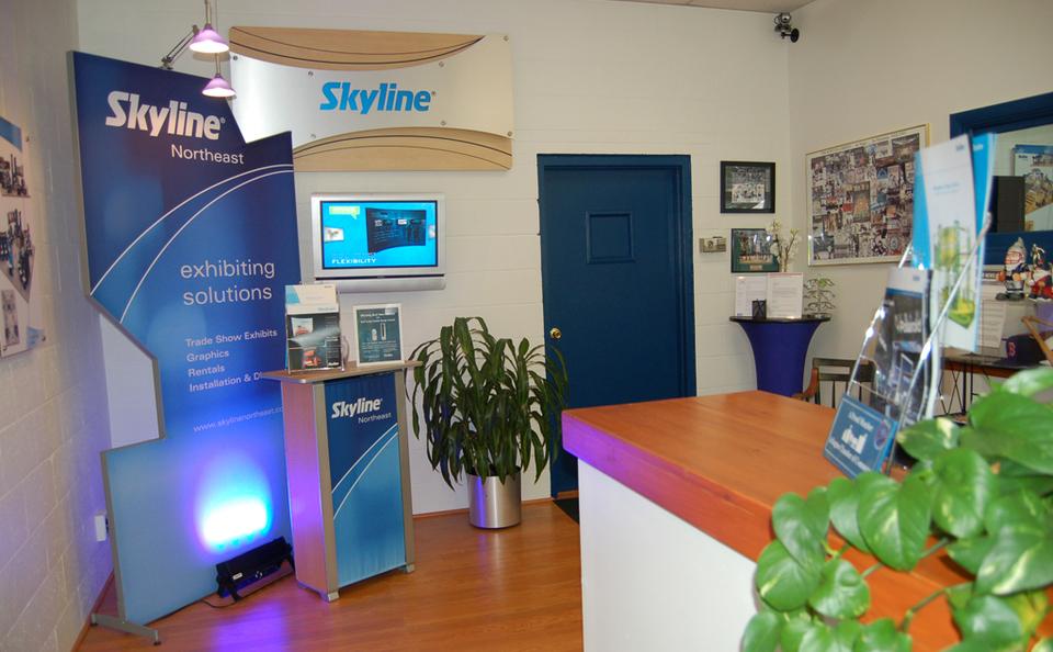 Skyline Northeast office lobby