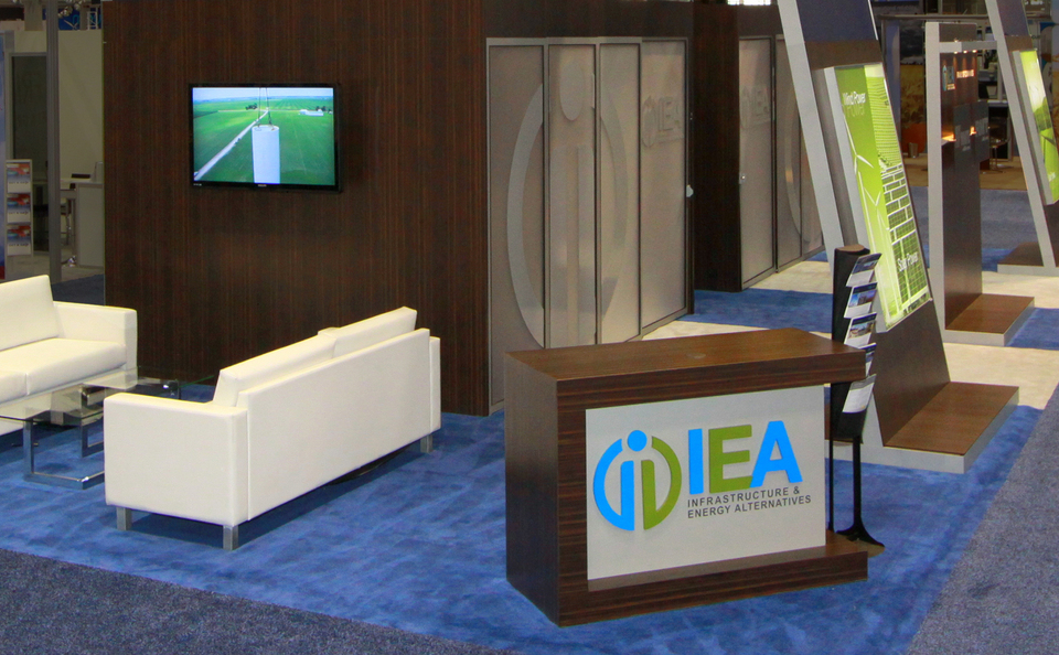 trade show events booth tables custom