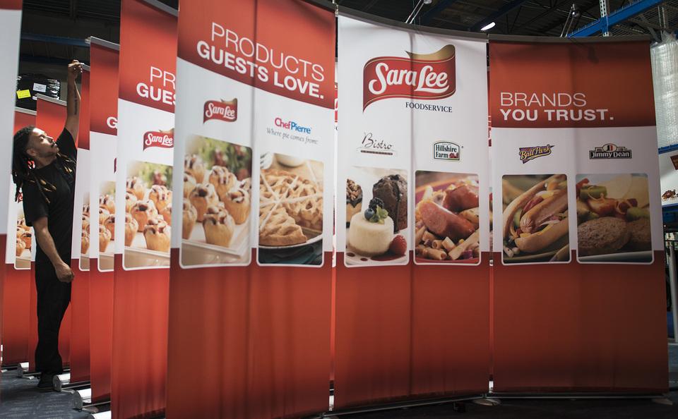 Skyline TradeTec Chicago, Sara Lee trade show booth