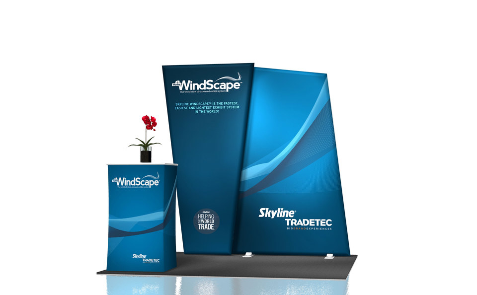 TradeTec Chicago Windscape trade show displays