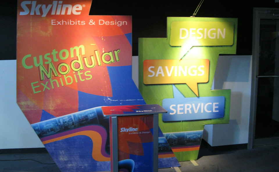 Skyline Northeast trade show backwall