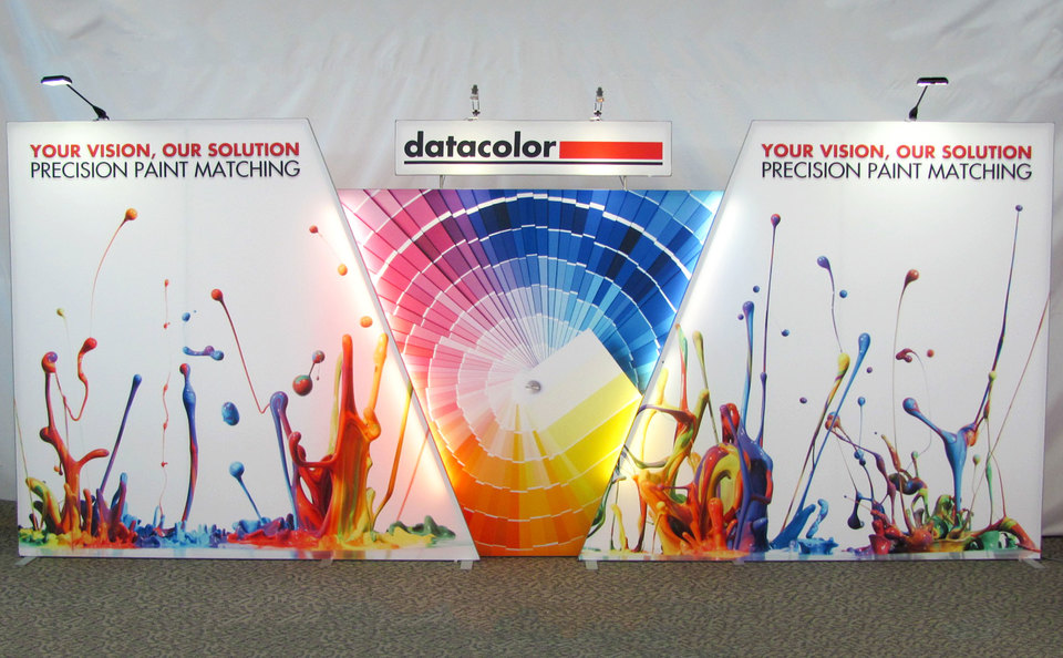 Skyline Exhibits New Jersey DataColor trade show booth