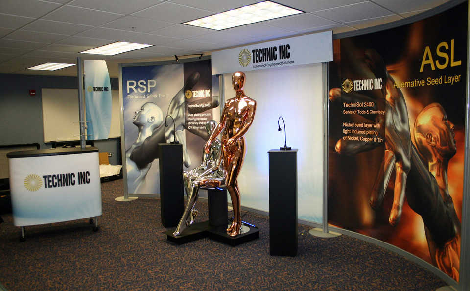 Skyline Northeast Tecnic, Inc. trade show inline display
