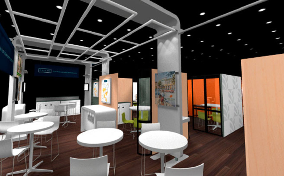 Trade show displays exhibits and booths for columbus and dayton ohio