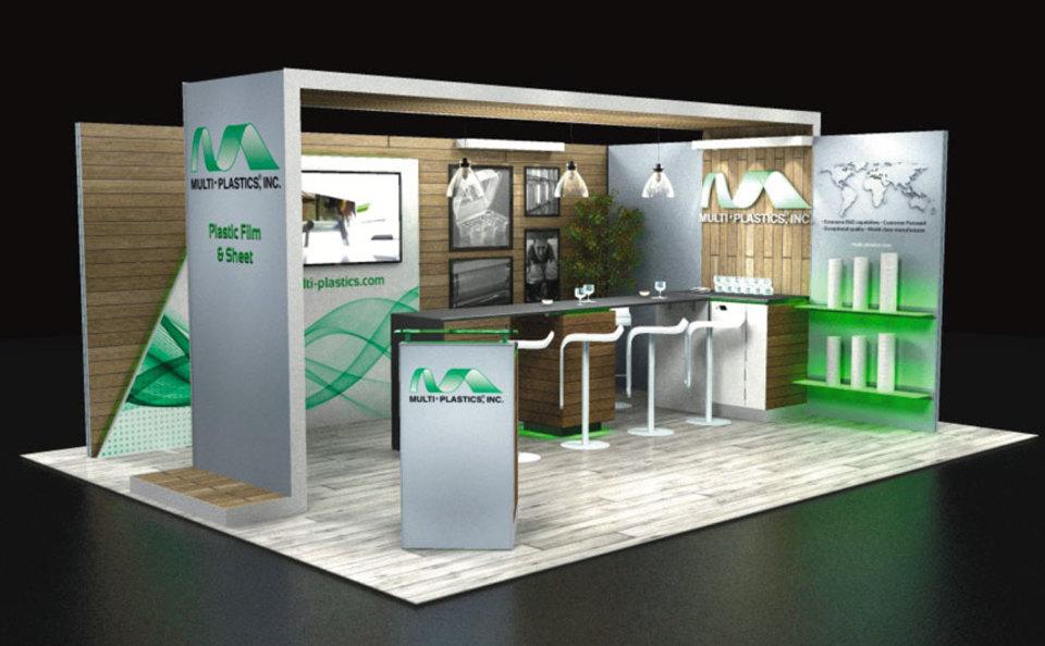 Multi Plastics 15x20 Exhibit Design