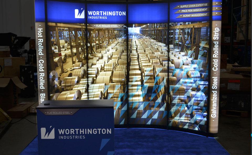 Worthington Industries Backlit Mirage®