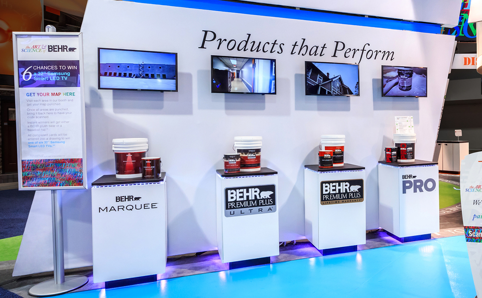 trade show events exhibits tables tablox skyline