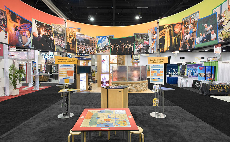 Experience Columbus Trade Show Display