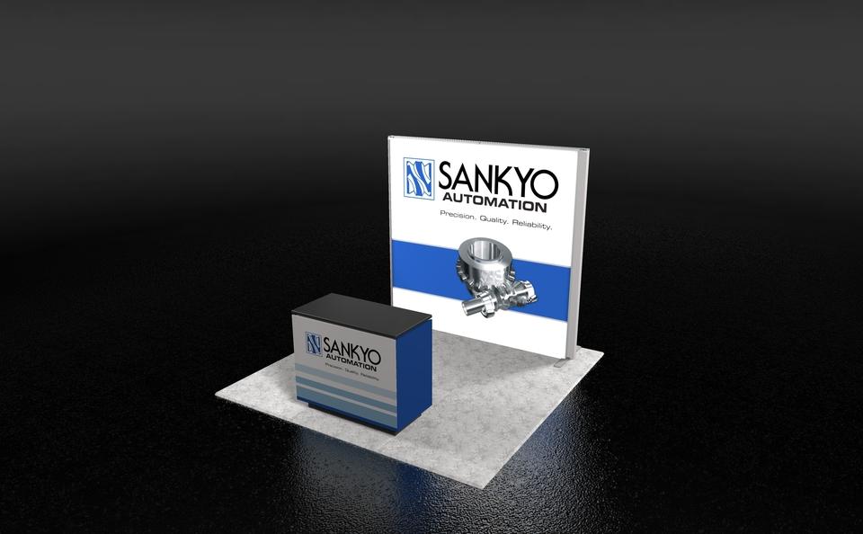 Sankyo 10x10 Backlit SkyRise.