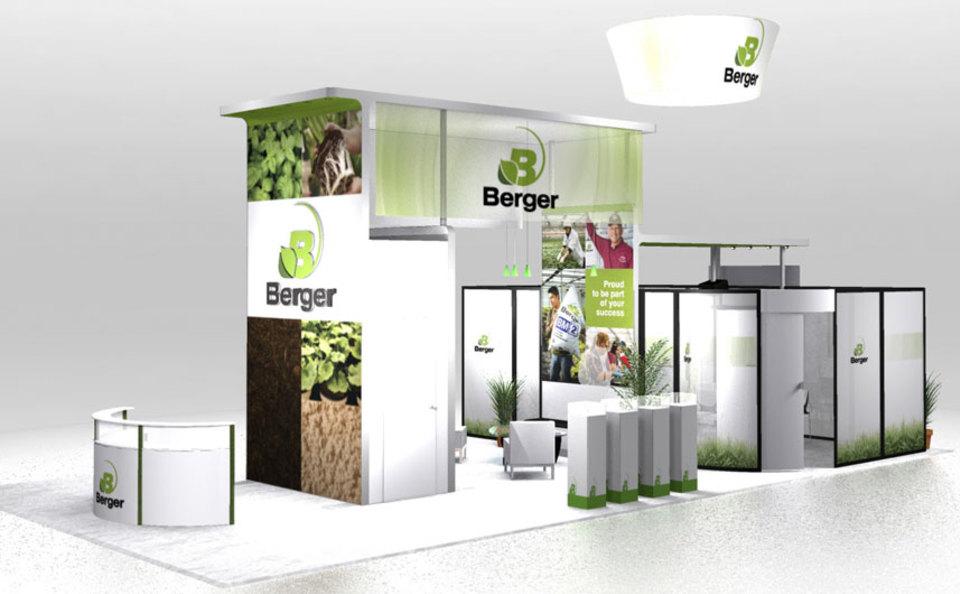 Berger 20x40 Exhibit Design