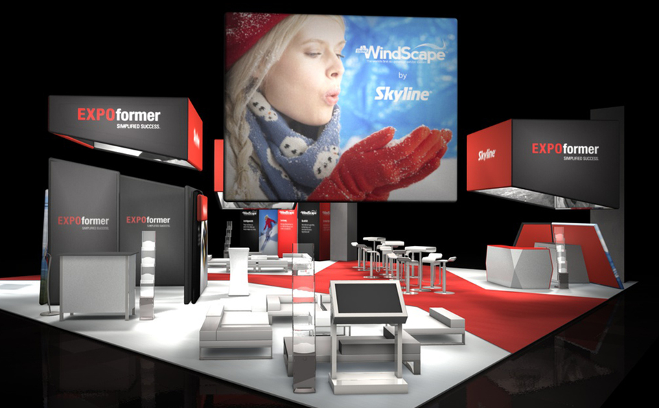 trade show events design windscape