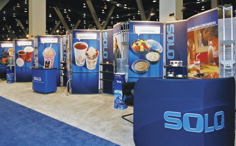 trade show events displays rental