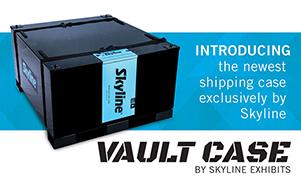 Vault trade show exhibit display Case