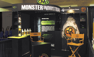 rent modular exhibits - In-your-face impact brings results