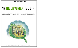 An Inconvenient Booth Green Exhibiting