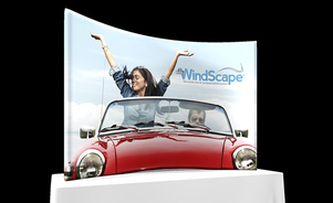 table top display - Windscape® - the power of air