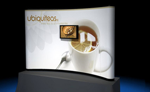 table top display - Mirage® pop-up display