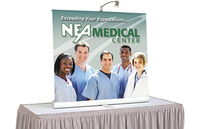 tabletop displays - banner stand 3000r
