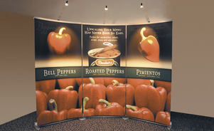 banner stands - big graphics, big convenience