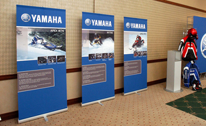 banner stands - versatile for any event