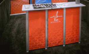 trade show tables - add valuable workspace