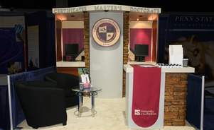 trade show counters - custom solutions