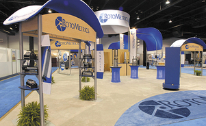 lightweight trade show displays - from 27 crates to 7