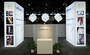 trade show events exhibits picturecube backlit towers