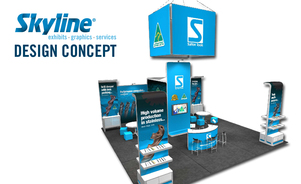 Skyline Exhibits Chicago Has Talented Trade Show Booth Designers Who Help You Make an Impact at Events