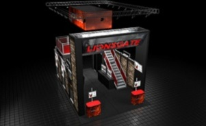Lionsgate custom modular trade show display