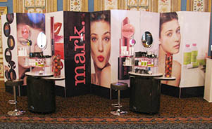 Avon event displays new york exhibits