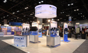 Skyline Exhibits New Jersey Competent Hardware trade show booth