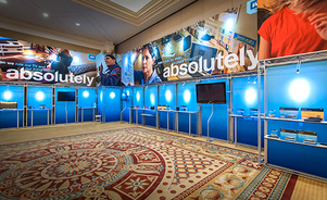 tradeshow convention displays - rent for your event