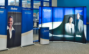 pop-up displays - your display is your brand
