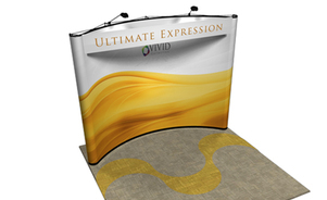 pop-up displays - rental is a flexible option